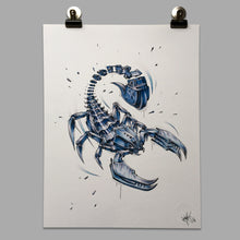 "Load image into Gallery viewer, Fine Art Print ""Scorpion Slice"""