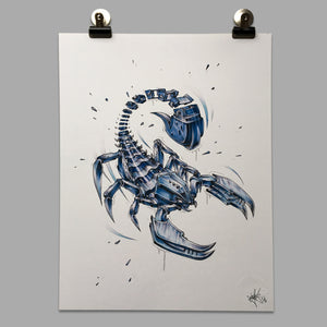 "Fine Art Print ""Scorpion Slice"""