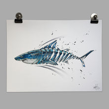 "Load image into Gallery viewer, Fine Art Print ""Shark Slice"""