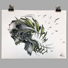 "Load image into Gallery viewer, Fine Art Print ""Skull Slice"""