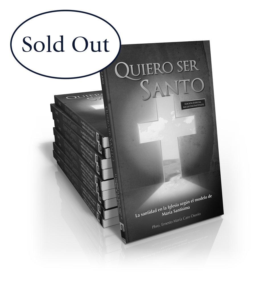 Quiero Ser Santo (I Want to Be Holy) - Case of 10 Books - $6 USD per book. Over 60% Off!