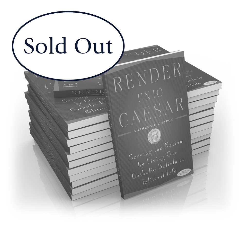 Render Unto Caesar - Case of 25 Books - Canada Only
