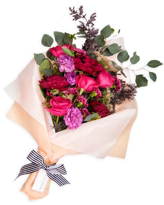 Mixed bouquet from Hedonia Flowers. Premium flowers with free next-day delivery to Chicago.