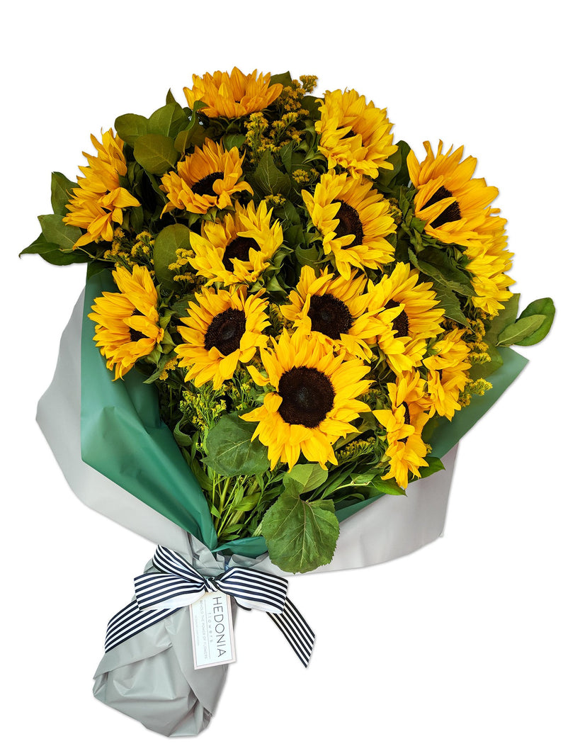 Designer flowers modern attitude send hedonia flowers today sunflower bouquet from hedonia flowers premium flowers with free next day delivery to chicago izmirmasajfo