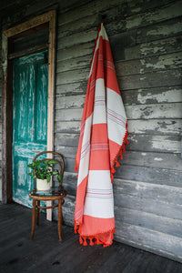 Round Tassel Throw 'Oaxaca'