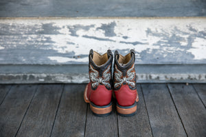 Kids Cowboy Boots 'Red'