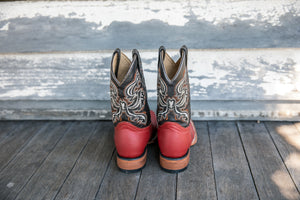 Cowboy Boots 'Red'