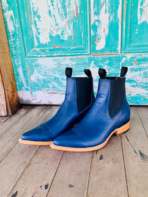 The Frankie Boot 'Navy'
