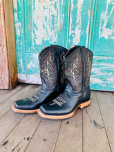 Cowboy Boots Mens 'Coffee Stitching'