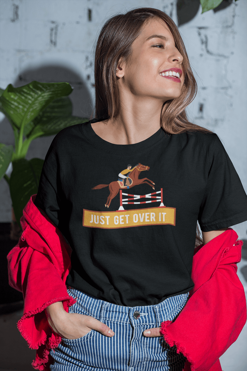 """Just Get Over It"" Women's Triblend T-Shirt"