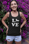 """Love Horse"" Women's Racerback Tank Top"