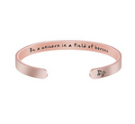 Be A Unicorn Rose Gold Cuff Bracelet