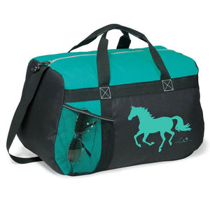 Lila Helmet Riding Gear Duffle Bag