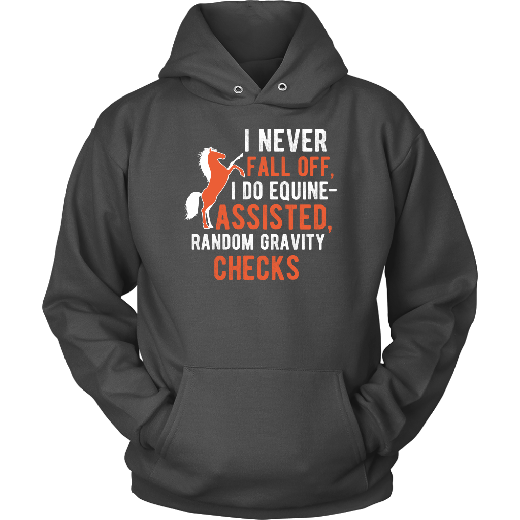 """I Never Fall Of"" Unisex Hoodie"