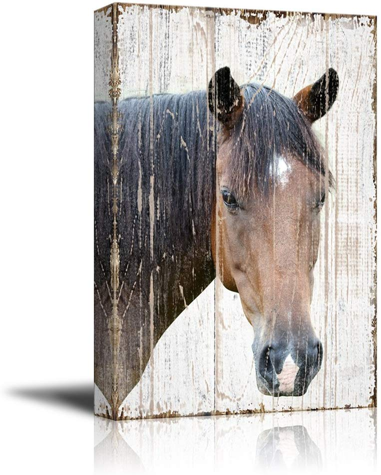 Canvas Print Horse Head Wall Art