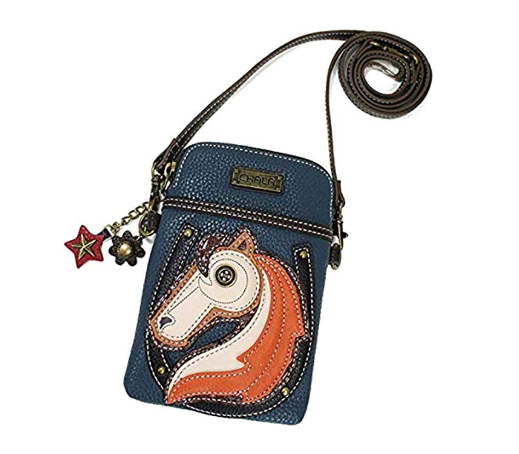 Multicolor Crossbody Horse Handbag