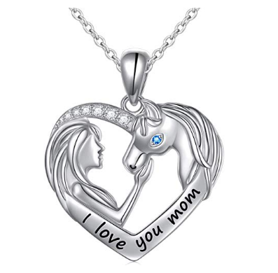Sterling Silver Horse Necklaces