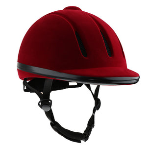 Equestrian Western Low-Profile Riding Helmet