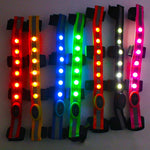 Night Visible LED Horse Head Straps