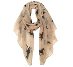 Horse Fashion Scarf For Women