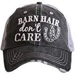 Barn Hair Don't Care Women's Baseball Trucker Hat