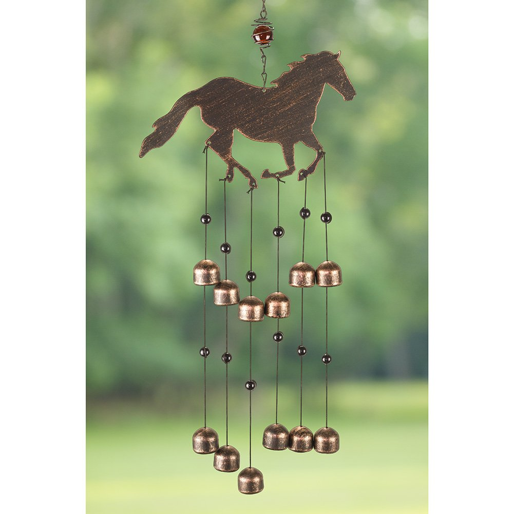 Iron Crafted Horse Wind Chime