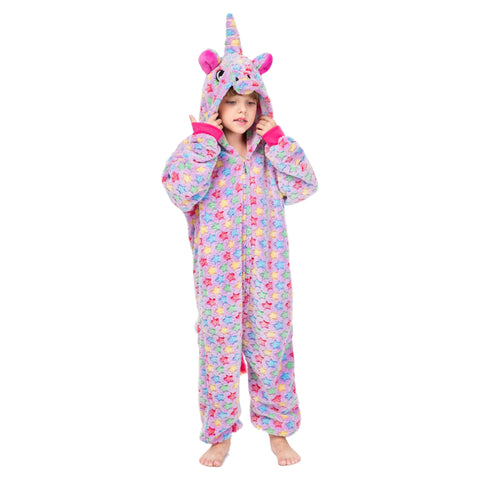 Soft Purple Star Kids Unicorn Onesie - Unicornia