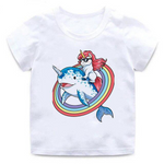 Aquatic Park Cartoon Unicorn T-Shirt - Unicornia