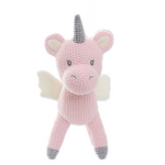 Knitted Pink Unicorn Toy - Unicornia