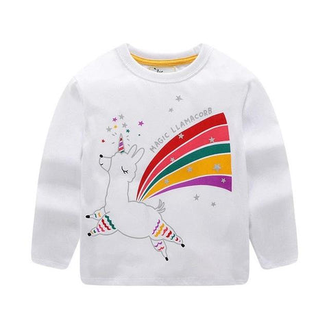 Little Rainbow Unicorn Jumper - Unicornia