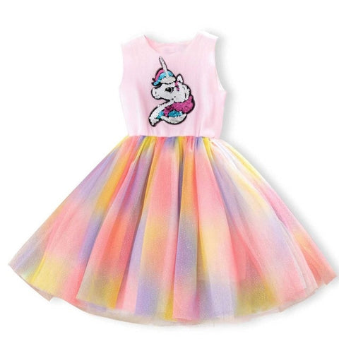 Pink Thea Dress Unicorn Costume - Unicornia