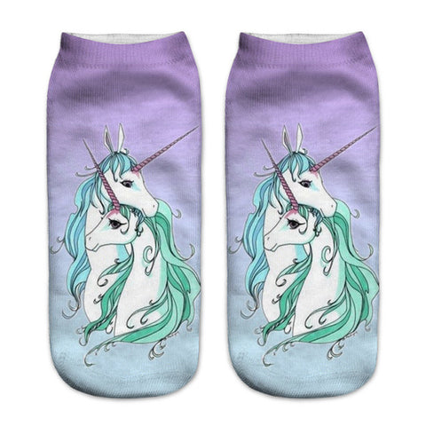 Mom Love Unicorn Socks - Unicornia