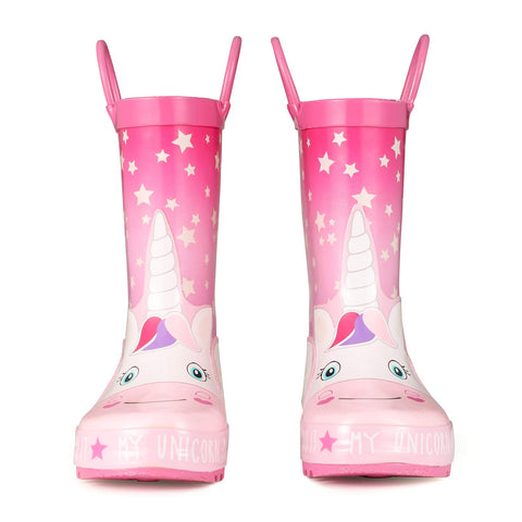 Angel Unicorn Rain Boots - Unicornia
