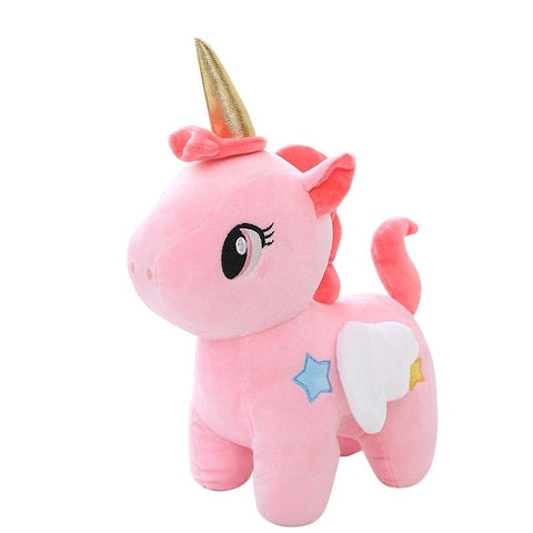Golden Horn Unicorn Toy 20cm - Unicornia