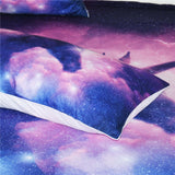 Million Stars Unicorn Quilt Cover Queen Set - Unicornia