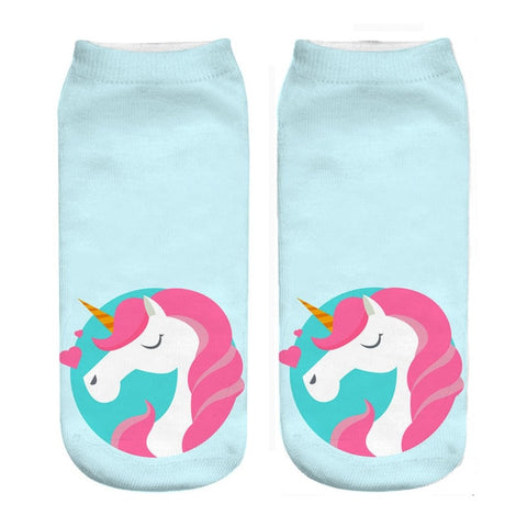 In Love Unicorn Socks - Unicornia