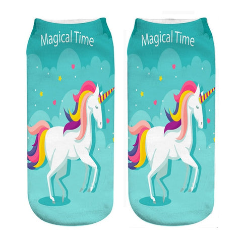 Fun Unicorn Socks - Unicornia