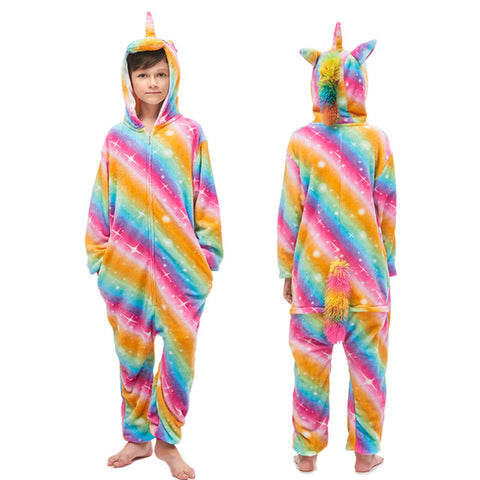 Rainbow Star Kids Unicorn Onesie - Unicornia