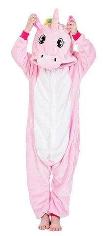 Pink And Rainbow Tail Unicorn Onesie - Unicornia