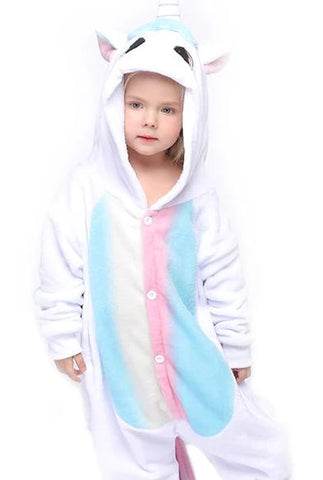 Baby Pink and Blue Unicorn Onesie - Unicornia