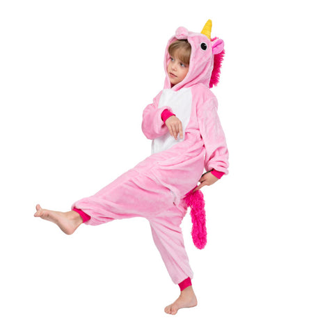 Soft Pink Kids Unicorn Onesie - Unicornia