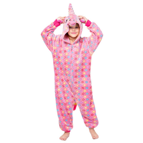 Pink Star Kids Unicorn Onesie - Unicornia