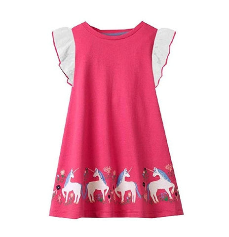 Ellia Unicorn Dress - Unicornia