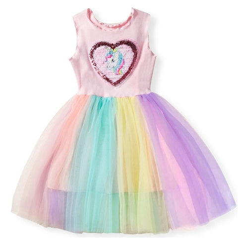 Coco Heart Dress Unicorn Costume - Unicornia