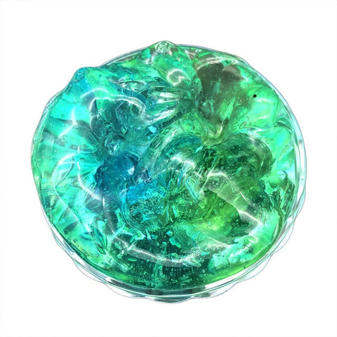 50g Green Rainbow Crystal Unicorn Slime - Unicornia