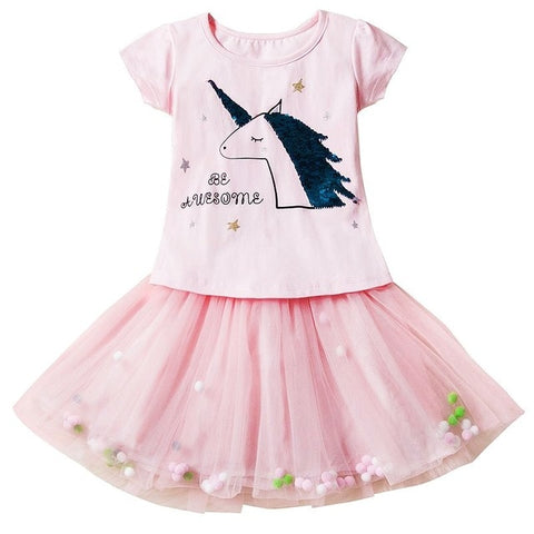 Pink Adele Unicorn Dress - Unicornia