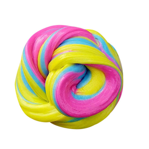 30g Yellow Rainbow Unicorn Slime - Unicornia