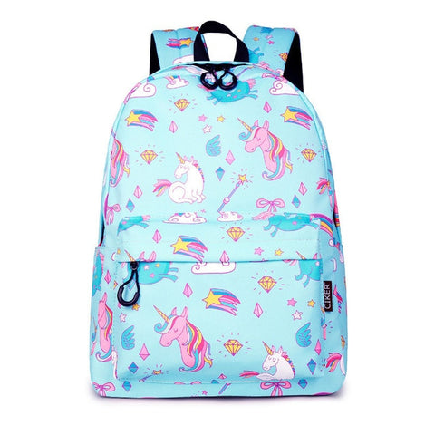 Collage Unicorn Backpack - Unicornia