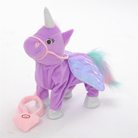 Purple Electric Walking Unicorn Toy - Unicornia