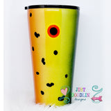 Fishing Lure Tumbler Design 1